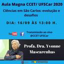 Aula Magna CCET/UFSCar 2020