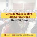 Jornada Alunos no ENPE CCET/UFSCar 2020