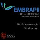 Live: Apresentação da Unidade Embrapii  apoiada pelo CCET/UFSCar